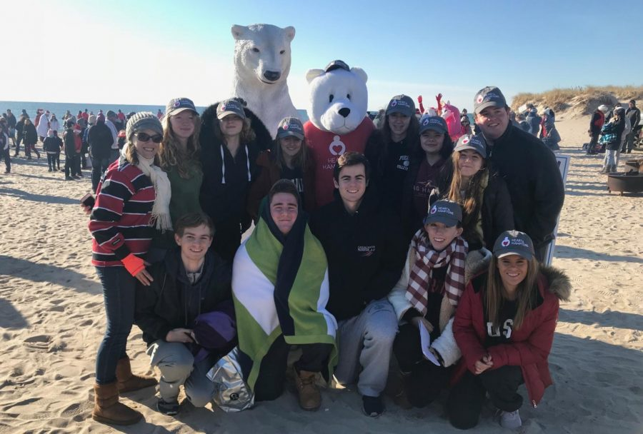 Pierson+NHS+Takes+the+Plunge