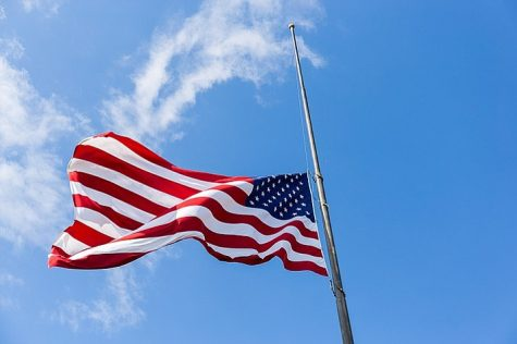 The Flagpole: Why is it at Half-Mast?