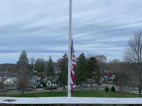 Why is the Flag at Half Mast? 10/18/19